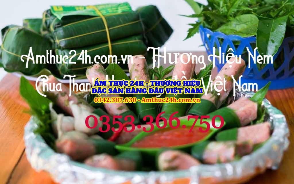 Nem chua thanh hóa tại Hà Nội