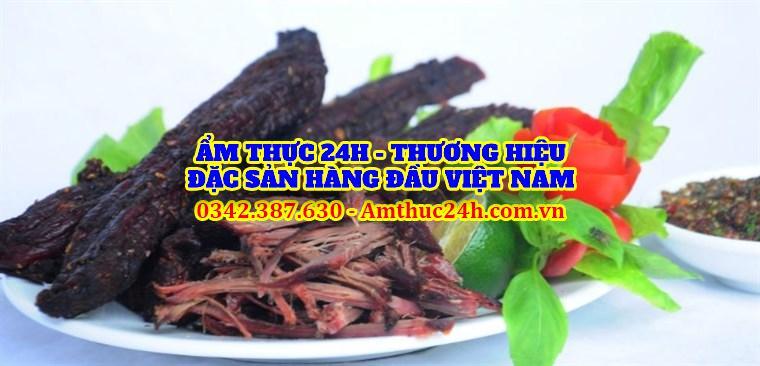 Thịt trâu gáp bếp tại Hà Nội