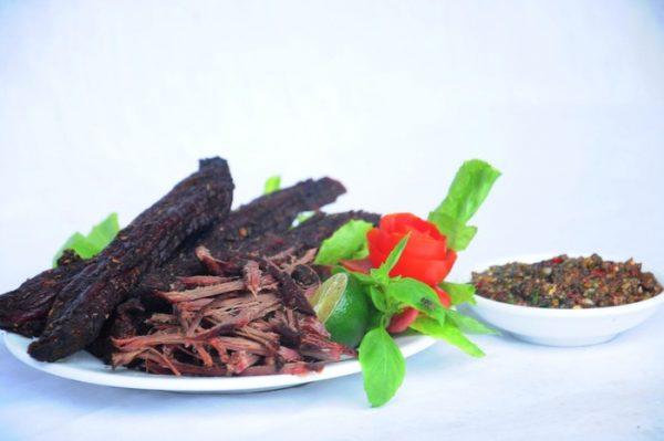 thịt trâu Sơn La