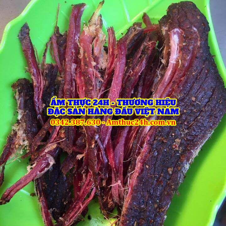 Cách chọn thịt trâu gác bếp tại Sài Gòn